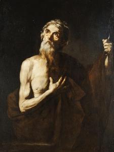 Saint Bartholomew, 1634 by Jusepe de Ribera