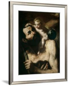Saint Christopher, 1637 by Jusepe de Ribera
