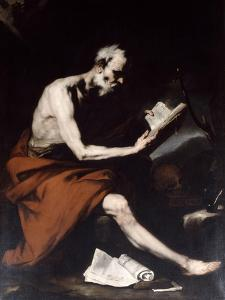 Saint Jerome, 17th Century by Jusepe de Ribera