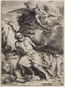Saint Jerome Hearing the Trumpet of the Last Judgment, C. 1621 by Jusepe de Ribera