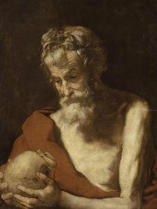 Saint Jérôme by Jusepe de Ribera