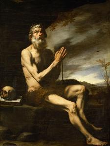 Saint Paul Hermit by Jusepe de Ribera