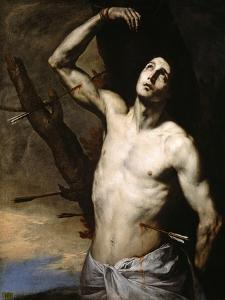 Saint Sebastian, 1636 by Jusepe de Ribera
