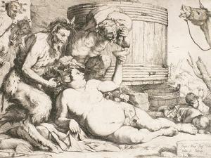 Silenus at the Wine Vat, 1628 by Jusepe de Ribera