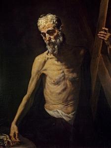 St. Andrew, c.1631 by Jusepe de Ribera