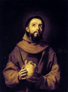 St. Francis, Palatine Gallery, Pitti Palace, Florence by Jusepe de Ribera
