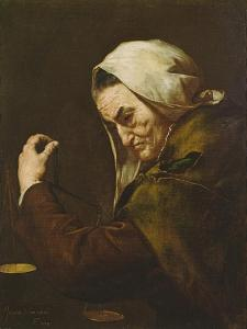 The Old Usurer, 1638 by Jusepe de Ribera