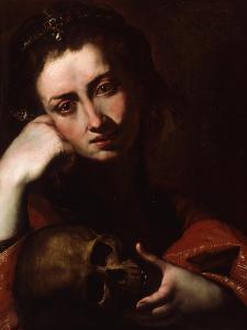 The Penitent Magdalene, C.1620 by Jusepe de Ribera