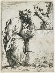 The Poet, C. 1620-1621 by Jusepe de Ribera