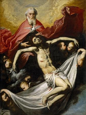The Holy Trinity, Ca. 1635, Spanish School