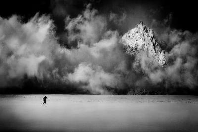 Just a Few Miles Ahead...-Peter Svoboda-Photographic Print