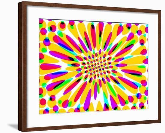 Just a Little More Color Please-Ruth Palmer-Framed Art Print