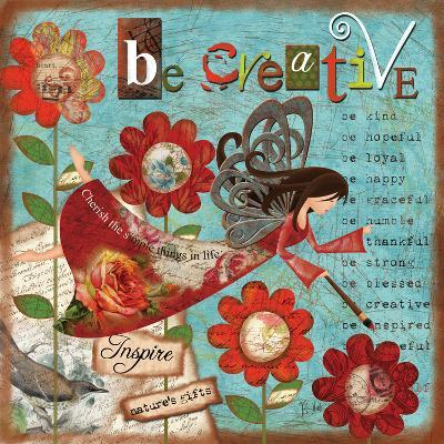 Just Be Creative-Victoria Hutto-Art Print