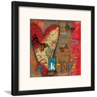 Just Be Kind-Victoria Hutto-Framed Art Print
