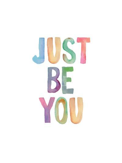 Just Be You-Brett Wilson-Art Print