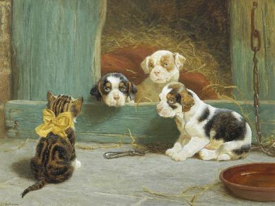 Just Good Friends-John Dollman-Giclee Print