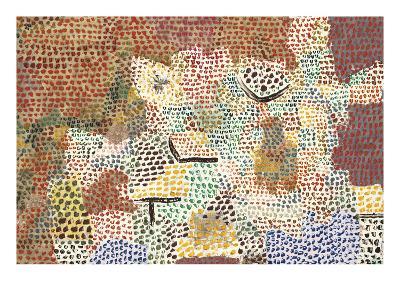 Just Like a Garden Run Wild; Wie Ein Verwilderter Garten-Paul Klee-Giclee Print