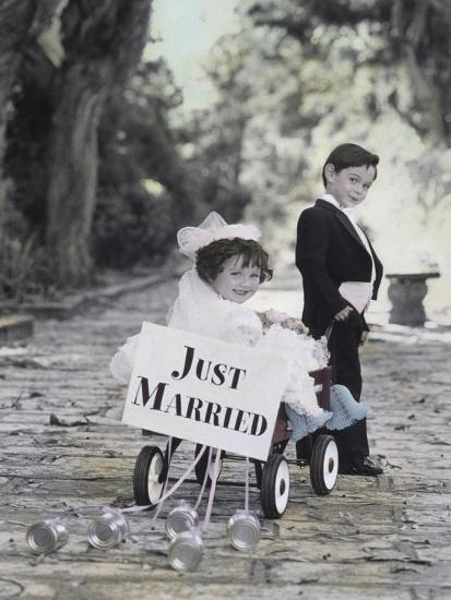 Just Married-Gail Goodwin-Giclee Print