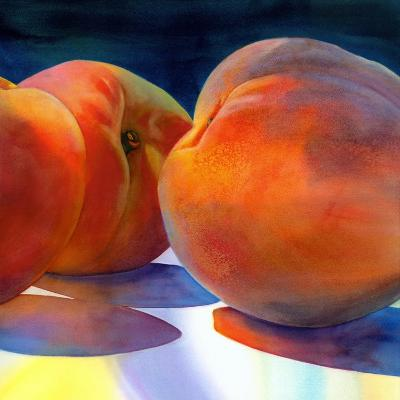 Just Peachy-Terri Hill-Premium Giclee Print