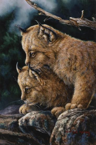 Just the Two of Us-Wanda Mumm-Giclee Print