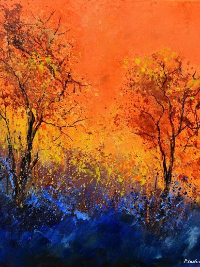 Just two trees-Pol Ledent-Art Print