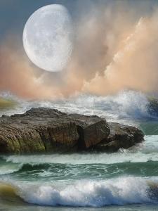 Fantasy Landscape by justdd