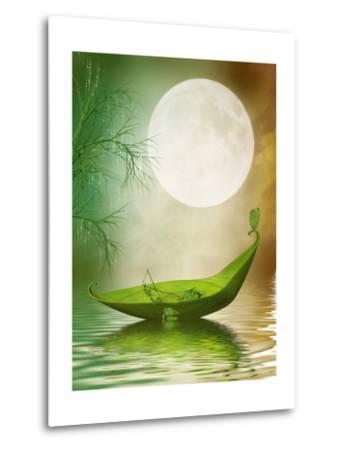 Fantasy Leaf Boat