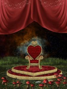 Magic Throne by justdd