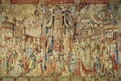 Justice, 16th Century Tapestry Based on Cartoon--Giclee Print
