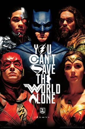 JUSTICE LEAGUE - SAVE THE WORLD