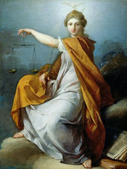 Justice-Pierre Subleyras-Giclee Print