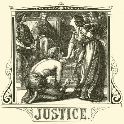 Justice--Giclee Print
