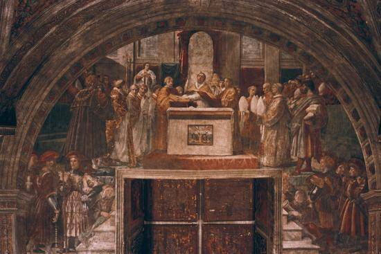 Justification of Leo III, 1514-Raphael-Giclee Print