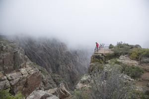 Black Canyon Of The Gunnison River National Park In Southwestern Colorado. (Cross Fissures View) by Justin Bailie