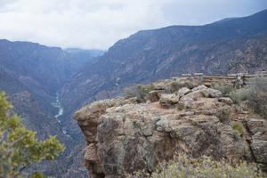 Black Canyon Of The Gunnison River National Park In Southwestern Colorado by Justin Bailie
