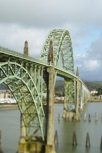 Bridge Over Yaquina Bay. Newport, OR by Justin Bailie