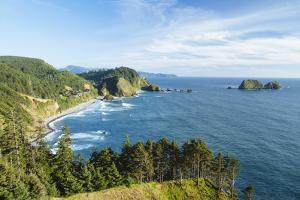 Cape Mears Along The Oregon Coast by Justin Bailie
