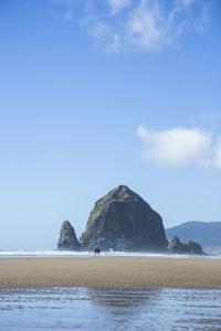 Haystack Rock In Cannon Beach, Oregon by Justin Bailie