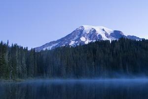 Reflection Lake, Mt. Rainier National Park, WA by Justin Bailie