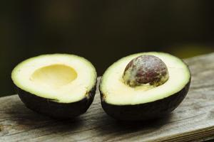 Still Life Of Avocado by Justin Bailie