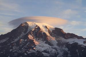 Sunrise Colors On Mt. Rainier National Park, WA by Justin Bailie