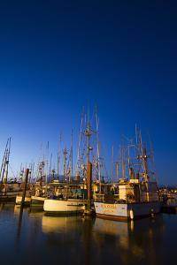 Yaquina Bay Harbor. Newport, OR by Justin Bailie
