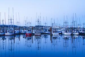 Yaquina Bay Harbor, Newport, OR by Justin Bailie