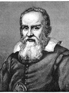 Galileo Galilei (1564-164), 1882 by Justus Sustermans