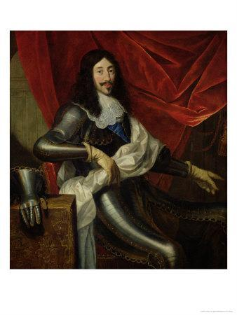 Louis XIII (1601-43) King of France and Navarre, after 1630