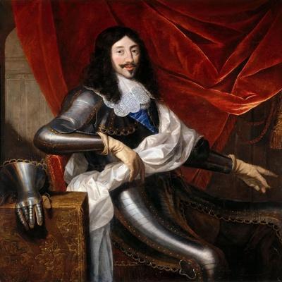 Portrait of Louis XIII of France (1601-164)