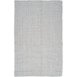 Jute Woven Area Rug - Light Gray 5' x 8'