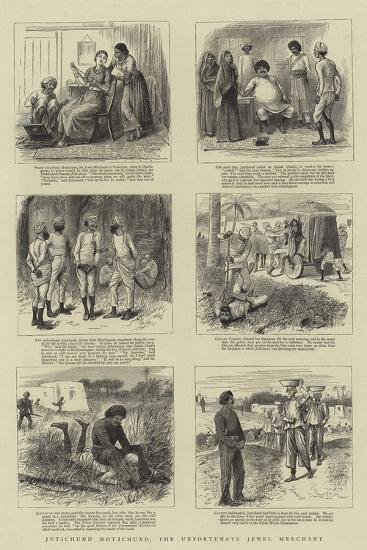 Jutichund Motichund, the Unfortunate Jewel Merchant--Giclee Print