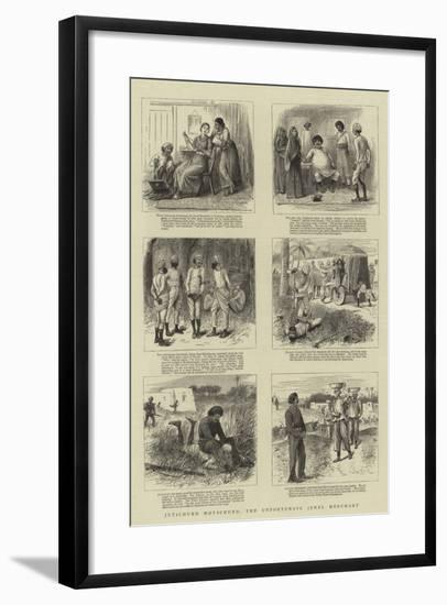 Jutichund Motichund, the Unfortunate Jewel Merchant--Framed Giclee Print