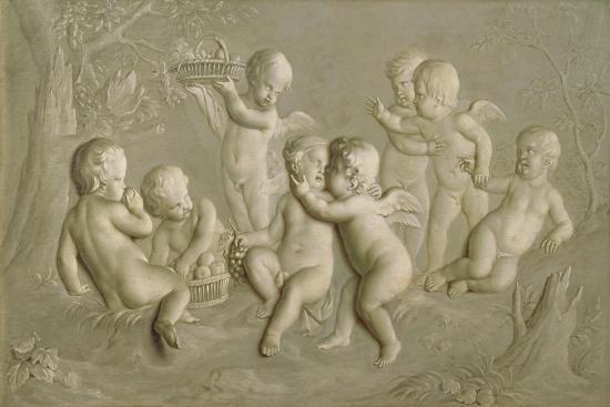 Juvenile Bacchanalia, 1783-Grigoriy Ivanovich Ugryumov-Giclee Print
